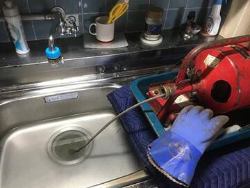 台所詰まり