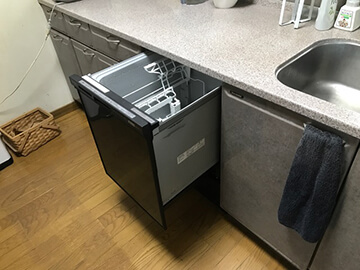 ビルトイン食洗機交換