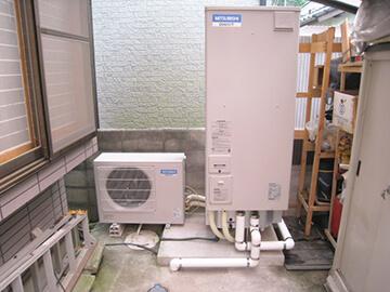エコキュート・電気温水器交換