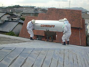 温水器の撤去