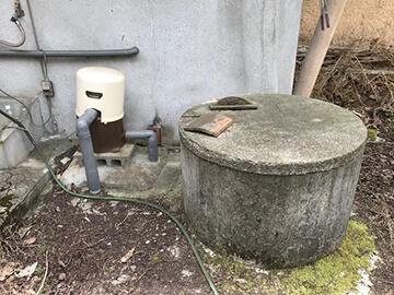 井戸ポンプの故障