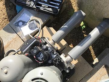井戸ポンプの部品交換
