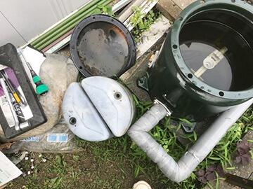 浄水器フィルター交換