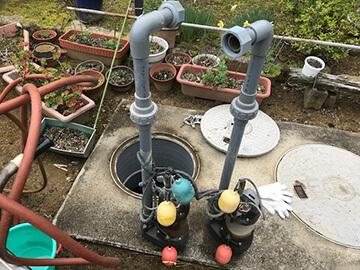 排水ポンプ交換