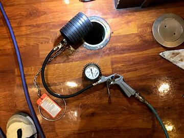 排管水調査