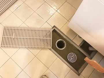 排水溝清掃