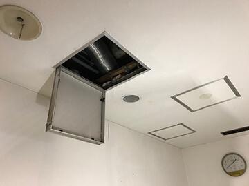 壁床天井からの漏水