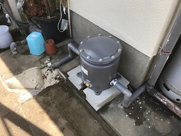 浄水器取付
