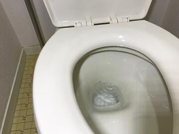 便器への水漏れ