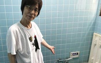 浴室混合水栓交換工事福岡市南区 M様